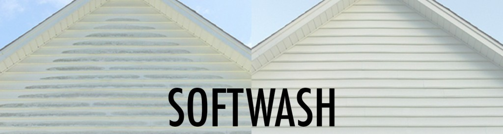 Softwash, roof cleaning, exterior cleaning
